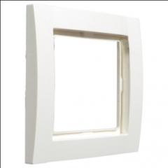 Рамка 1Х, белая, Fiorena