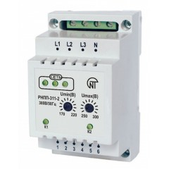 Двухканальное реле контроля фаз РНПП 311-2, 380В