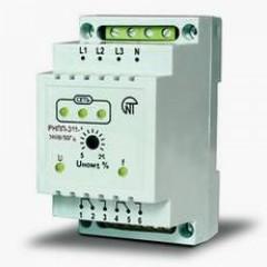 Двухканальное реле контроля фаз РНПП 311-1, 380В