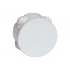 Коробки ответвительные круглые с кабельными вводами, IP44, 65х35мм