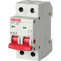 Выключатель нагрузки на DIN-рейку e.is.2.63, 2р, 63А